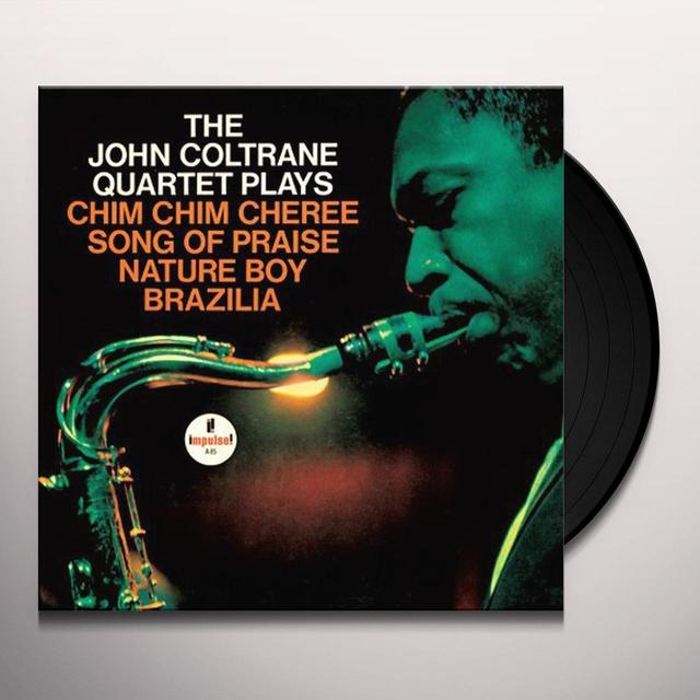 JOHN COLTRANE QUARTET PLAYS Vinyl Record
