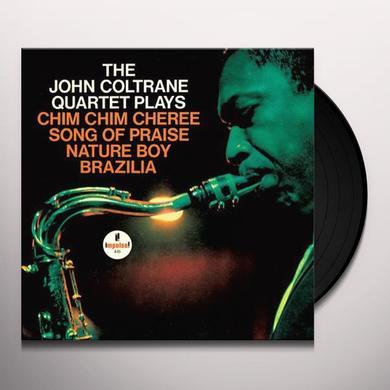 JOHN COLTRANE QUARTET PLAYS Vinyl Record