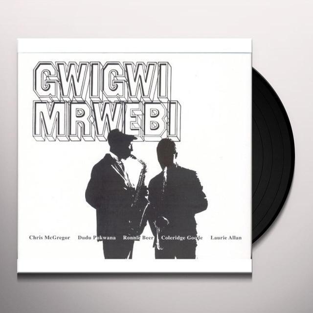 Gwigwi Mrwebi MBAQANGA SONGS Vinyl Record
