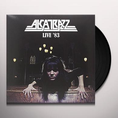 Alcatrazz LIVE 83 (BONUS TRACK) Vinyl Record