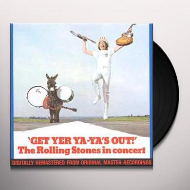 The Rolling Stones GET YER YA YA'S OUT Vinyl Record