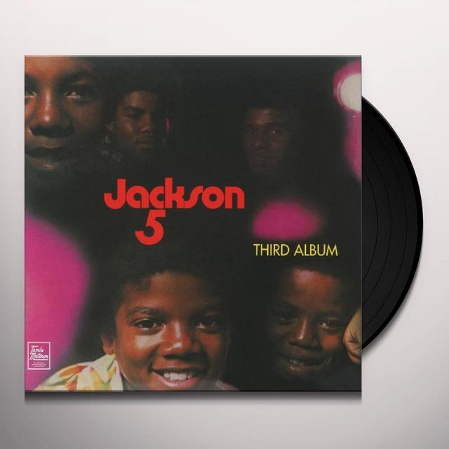 The Jackson 5 THIRD ALBUM (REIS) (Vinyl)