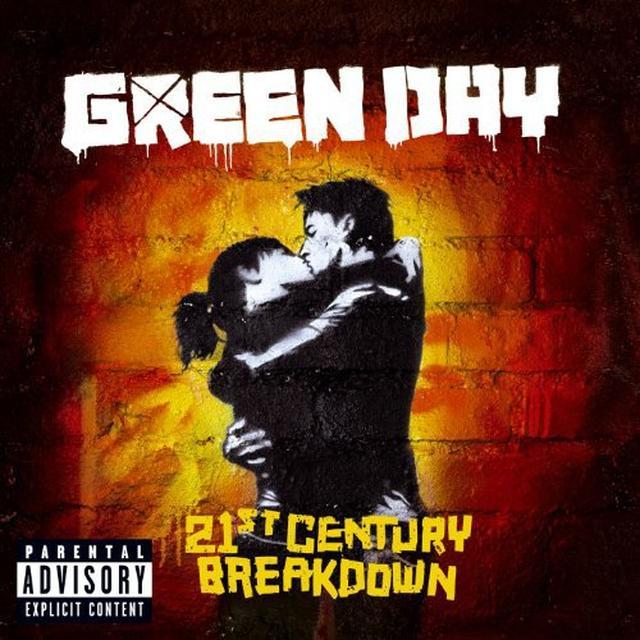 "Green Day 21ST CENTURY BREAKDOWN (10"") Vinyl Record"
