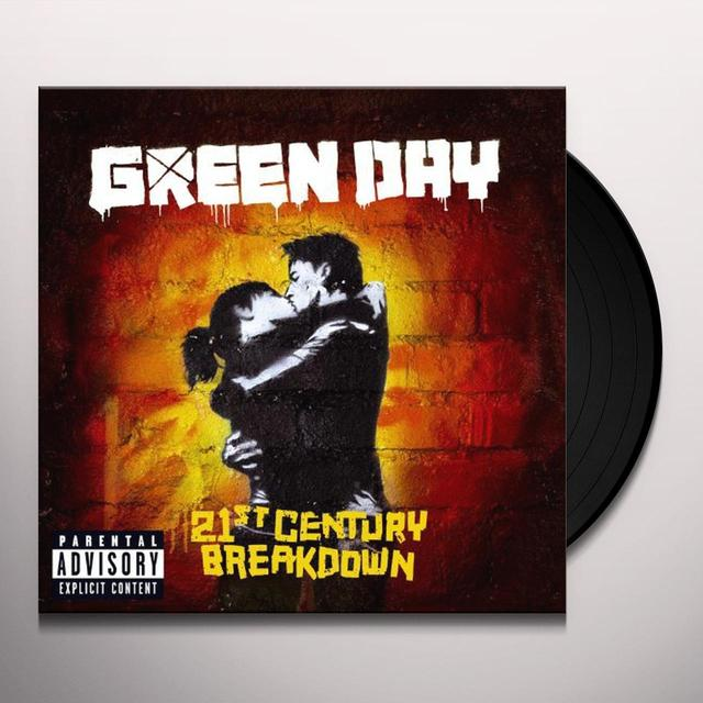 "Green Day 21ST CENTURY BREAKDOWN (10"")  (BONUS CD) Vinyl Record - 10 Inch Single"