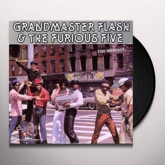 Grandmaster Flash & The Furious Five MESSAGE Vinyl Record