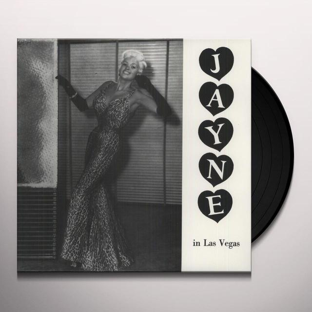 Jayne Mansfield JAYNE IN LAS VEGAS Vinyl Record
