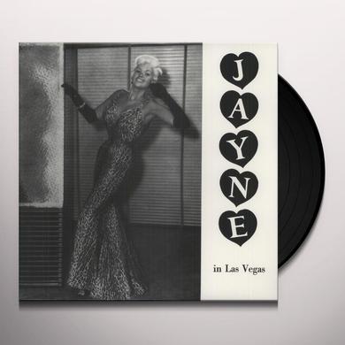 Jayne Mansfield JAYNE IN LAS VEGAS Vinyl Record - Reissue