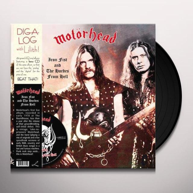 Motorhead IRON FIST & THE HORDES FROM HELL Vinyl Record - w/CD