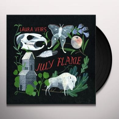 Laura Veirs JULY FLAME Vinyl Record