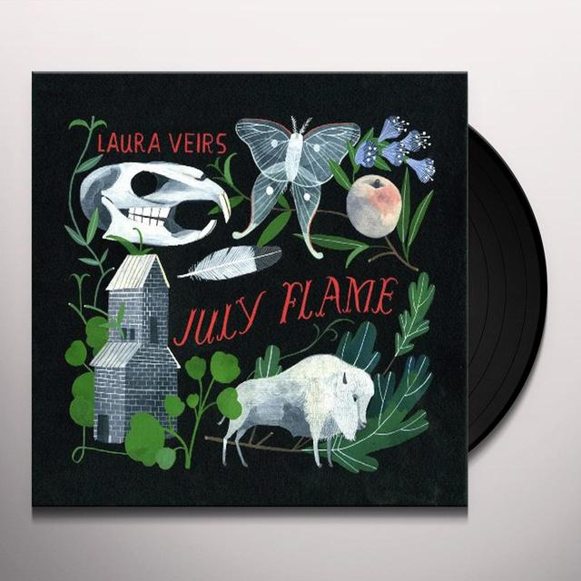 Laura Veirs JULY FLAME Vinyl Record - 180 Gram Pressing
