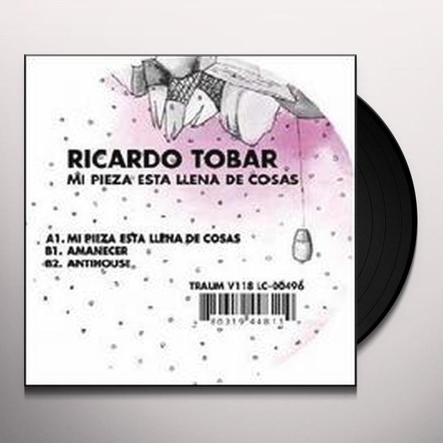 Ricardo Tobar MI PIEZA ESTA LLENA DE COSAS (EP) Vinyl Record