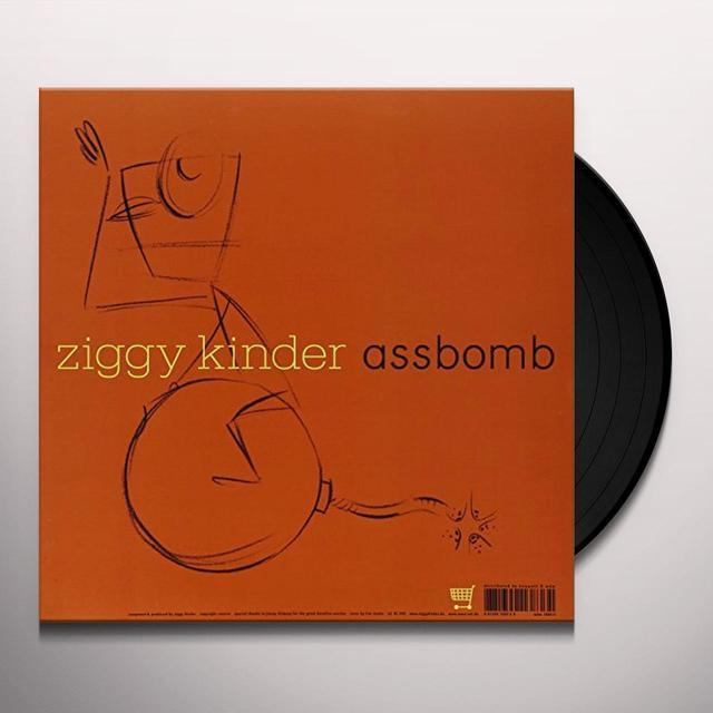 Ziggy Kinder ASSBOMB / LONGCAT (EP) Vinyl Record