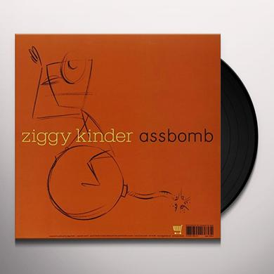 Ziggy Kinder ASSBOMB / LONGCAT Vinyl Record