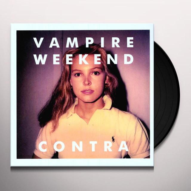 Vampire Weekend CONTRA Vinyl Record - 180 Gram Pressing