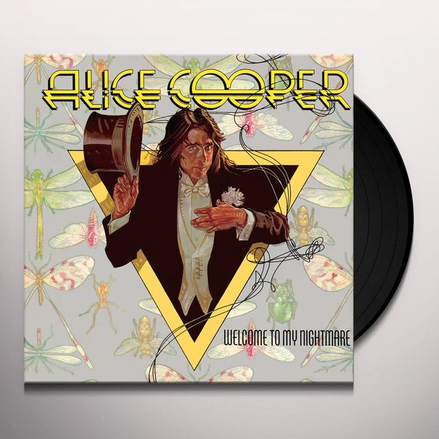 Alice Cooper WELCOME TO MY NIGHTMARE Vinyl Record - Limited Edition, 180 Gram Pressing