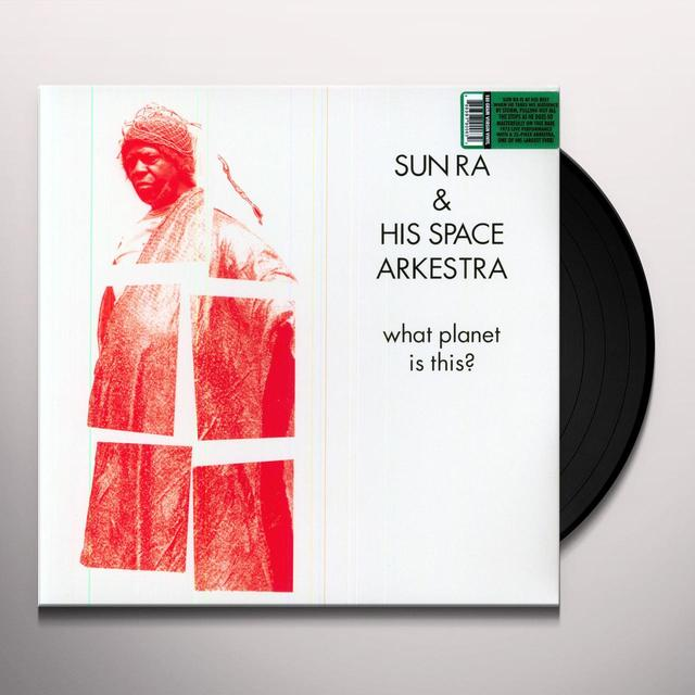 Sun Ra / His Space Arkestra WHAT PLANET IS THIS Vinyl Record