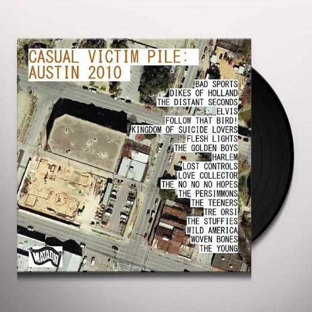 CASUAL VICTIM PILE: AUSTIN 2010 / VARIOUS Vinyl Record