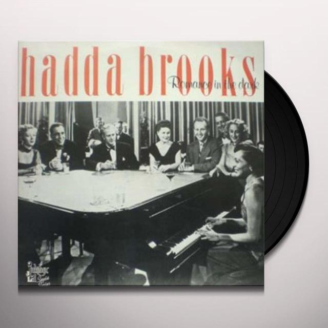 Hadda Brooks ROMANCE IN THE DARK Vinyl Record