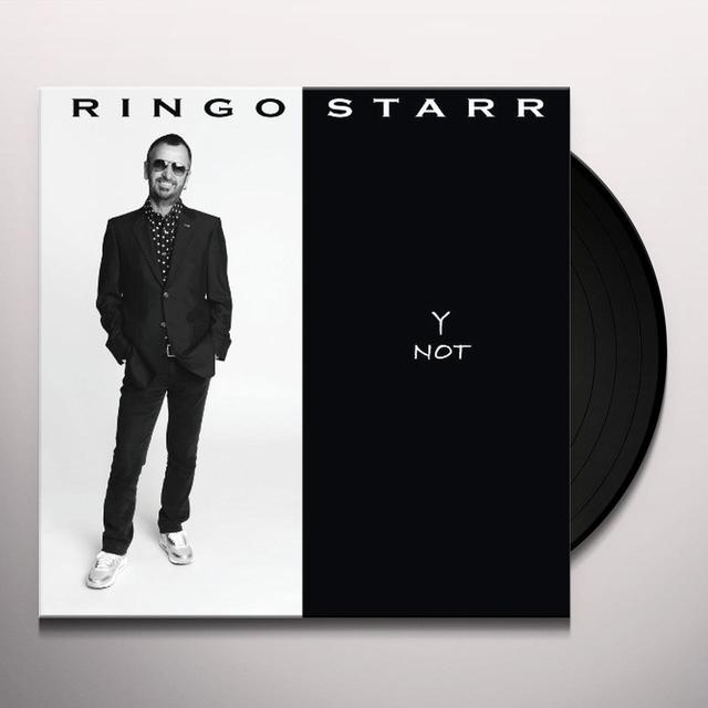 Ringo Starr Y NOT Vinyl Record
