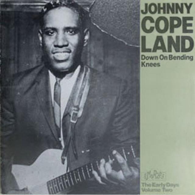 Johnny Copeland DOWN ON BENDING KNEES Vinyl Record
