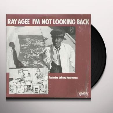 Ray Agee I'M NOT LOOKING BACK Vinyl Record