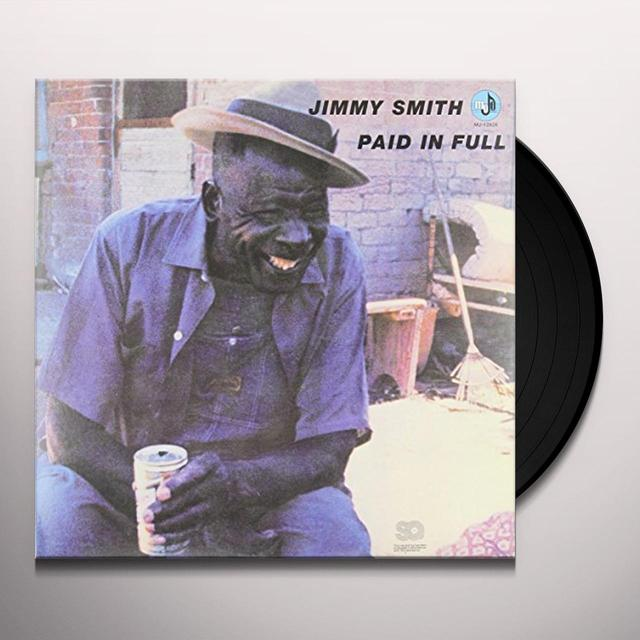 Jimmy Smith PAID IN FULL Vinyl Record