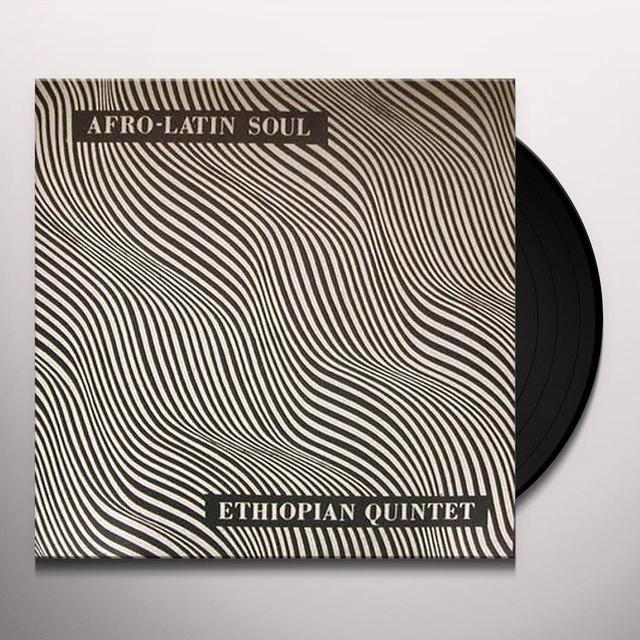 Mutlatu & His Ethiopian Quintet AFRO-LATIN SOUL Vinyl Record