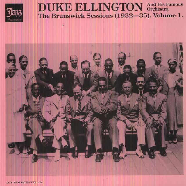 Duke Ellington BRUNSWICK SESSIONS 1 Vinyl Record