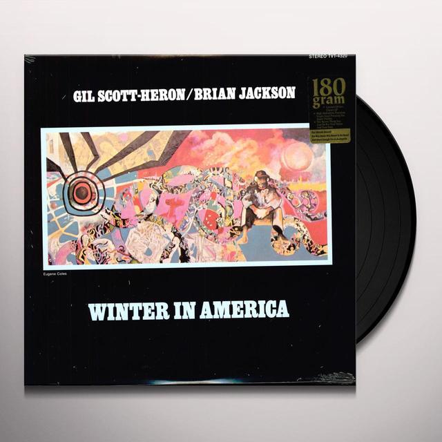 Gil Scott-Heron & Brian Jackson WINTER IN AMERICA Vinyl Record - 180 Gram Pressing
