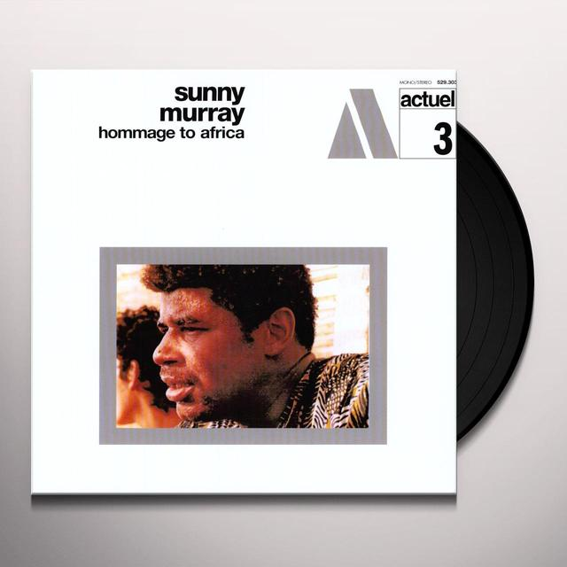 Sunny Murray HOMMAGE TO AFRICA Vinyl Record - 180 Gram Pressing