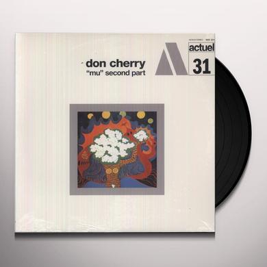 Don Cherry MU (PT.2) Vinyl Record