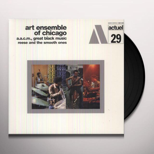 Art Ensemble Of Chicago REESE & THE SMOOTH ONES Vinyl Record
