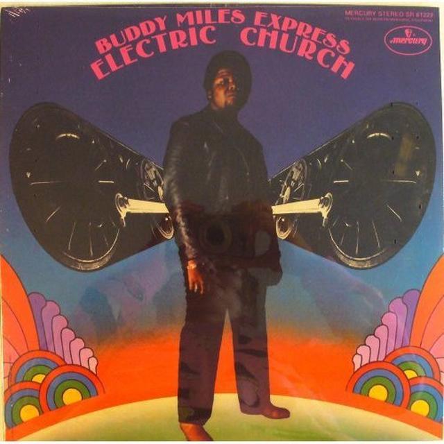 Buddy / Express Miles ELECTRIC CHURCH Vinyl Record