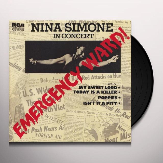 Nina Simone EMERGENCY WARD Vinyl Record - 180 Gram Pressing