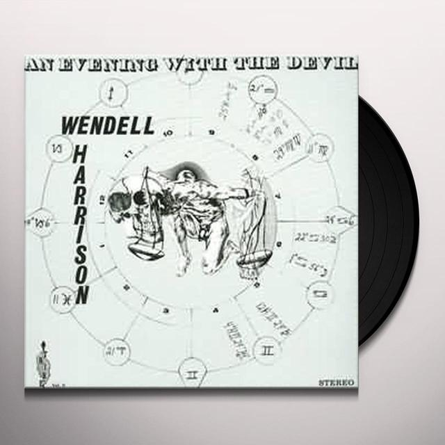 Wendell Harrison EVENING WITH THE DEVIL Vinyl Record