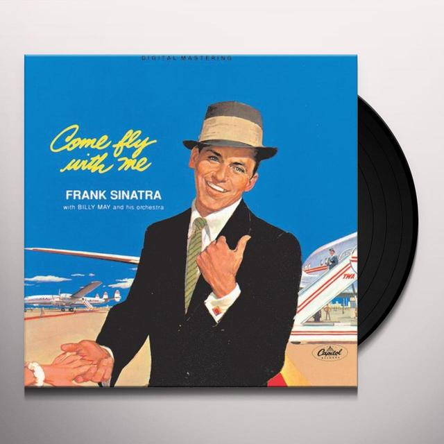 Frank Sinatra COME FLY WITH ME Vinyl Record
