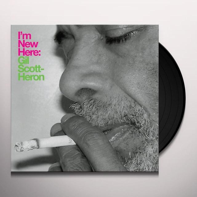 Gil Scott-Heron I'M NEW HERE Vinyl Record
