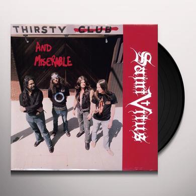 Saint Vitus THIRSTY & MISERABLE (EP) Vinyl Record