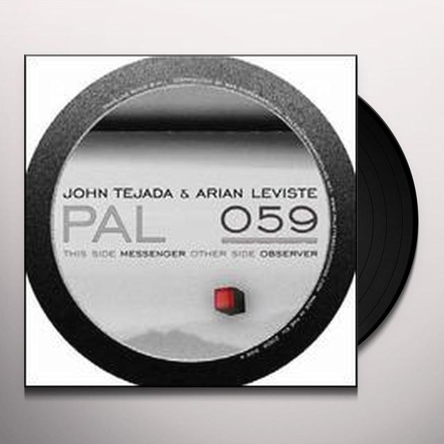 John Tejada & Arian Leviste MESSENGER / OBSERVER (EP) Vinyl Record