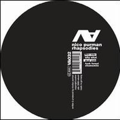 Nico Purman RHAPSODIES Vinyl Record