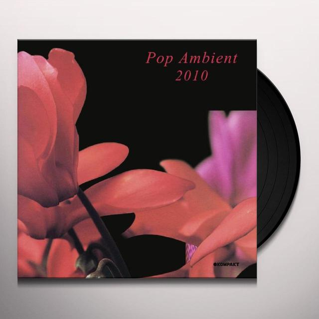 POP AMBIENT 2010 / VARIOUS Vinyl Record