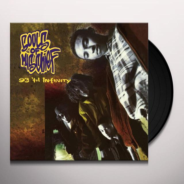 Souls Of Mischief 93 TIL INFINITY Vinyl Record