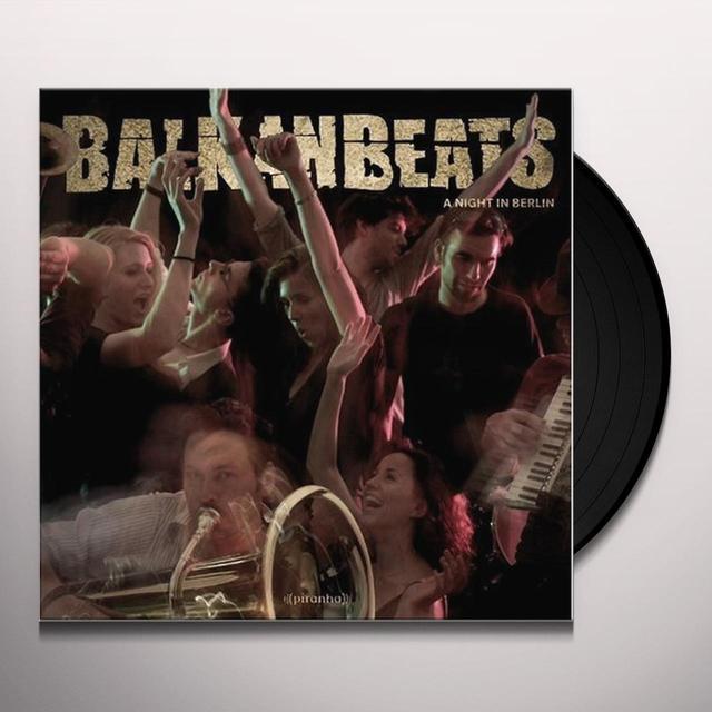 Robert Soko BALKANBEATS: A NIGHT IN BERLIN Vinyl Record