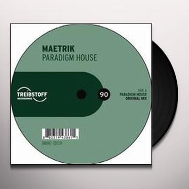 Maetrik PARADIGM HOUSE (EP) Vinyl Record