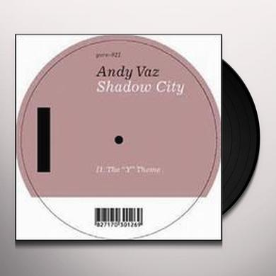 Andy Vaz SHADOW CITY (EP) Vinyl Record