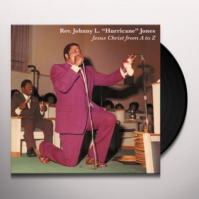 Johnny Jones JESUS CHRIST FROM A TO Z Vinyl Record