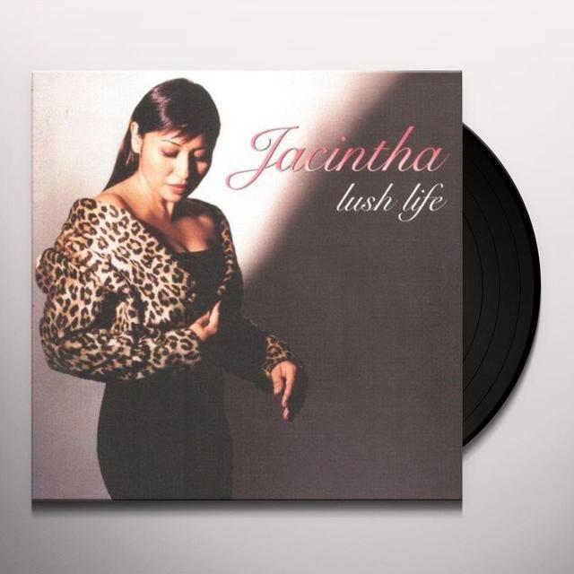 Jacintha LUSH LIFE Vinyl Record - 180 Gram Pressing