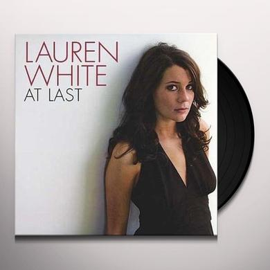 Lauren White AT LAST Vinyl Record