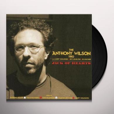 Anthony Wilson JACK OF HEARTS Vinyl Record - 180 Gram Pressing