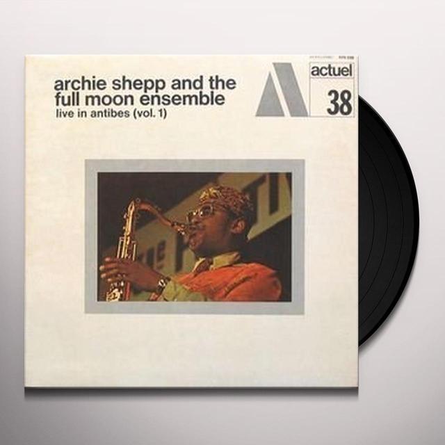 Archie Shepp LIVE IN ANTIBES 1 Vinyl Record - 180 Gram Pressing